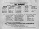 Liste des concurants Course Bordeaux-Saintes 1956