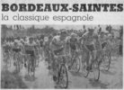 Jean Paul Martinaud (VC Saintais) en tête de peloton (photo Sud-Ouest)