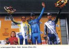 Podium de John Nilson course Bordeaux-Saintes 2005 (photo JPB)