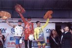 Podium de Frédéric Mainguenaud course Bordeaux-Saintes 1999