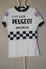 Maillot Cycles Peugeot ESSO Michelin