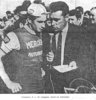 Podium Francis Campaner Bordeaux-Saintes 1967 (Photo Sud-Ouest)