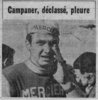 Francis Campaner Bordeaux-Saintes 1967 (Photo Sud-Ouest)