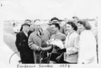 podium Maurice Nauleau course Bordeaux-Saintes 1954