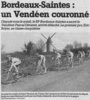 Moulin de Saint Thomas de Conac course Bordeaux-Saintes cycliste 1993 (photo Sud-Ouest)